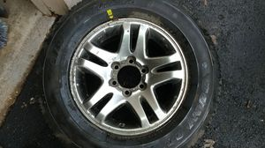 Spare tire for Toyota Tundra/Sequoia/Tacoma/4runner with Toyota OEM Classic 5 Spoke Design Wheel for Sale in Fairfax, VA