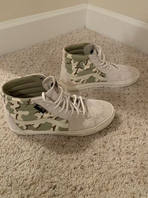 Mens size 11 Vans high tops (worn once) for Sale in Little Rock, AR