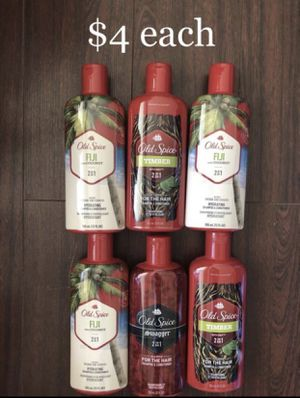 Old Spice 2 in 1 Shampoo & Conditioner $4 each for Sale in Monterey Park, CA