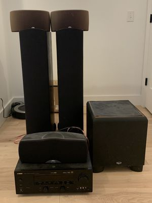 Klipsch Synergy 5.1 with Yamaha Receiver for Sale in Paducah, KY