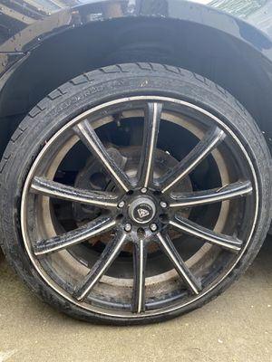 20inch black diamond rims for Sale in Tracy, CA