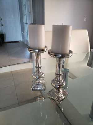 Candle Holders Set of two. for Sale in Miami Gardens, FL