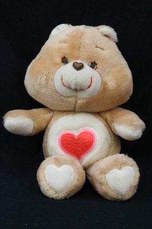 Vintage 1983 - Care Bear 'Tenderheart' Plush 14-Inch Teddy Bear for Sale in Chattanooga, TN