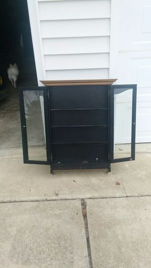 Hanging wall cabinet for Sale in Clayton, NC