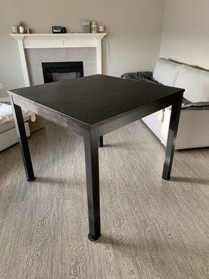 Ikea Bjursta bar table and 4 Ingolf bar chairs for Sale in Port Orchard, WA
