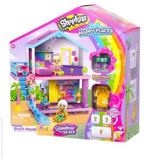 NEW Shopkins Happy Places Rainbow Beach House Playset for Sale in Marietta, PA