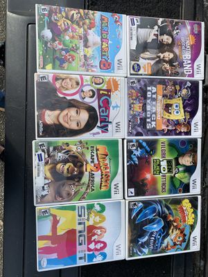 8 Wii games for Sale in Graham, WA