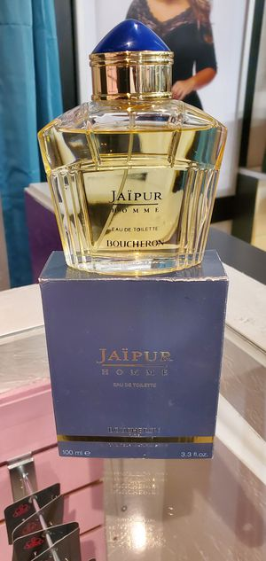 JAIPUR Pour Homme by Boucheron 3.3 oz / 3.4 oz edp Cologne NEW tester for Sale in Wimauma, FL