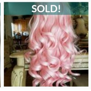 Pink Beauty Human Hair Blend Lace Front Wig for Sale in Carson, CA