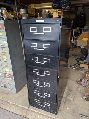 Large Tennsce 7 Drawer Flat File Cabinet Rollerbearing Tool Box Tool Cabinet for Sale in Walnut Creek, CA