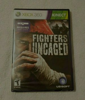 Brand new xbox 360 fighters uncaged game for Sale in Portland, OR