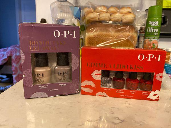 OPI Nail Polish Set (never opened)