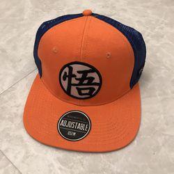 Dragon Ball Z Goku Hat Baseball Cap Orange Blue Brand New for Sale in Burtonsville,  MD