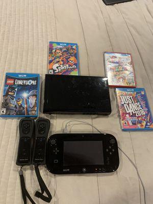 Nintendo Wii U Console Black Deluxe for Sale in River Grove, IL