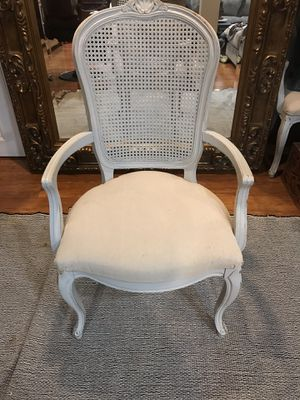 Set of 4 chairs and antique claw foot table for Sale in Arlington, VA