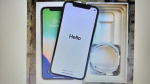 Apple iPhone X 256GB (Silver) for Sale in Wichita, KS