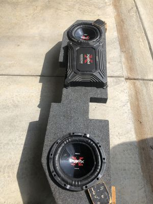 Sony Xplode 10' subs for Sale in Christiana, TN