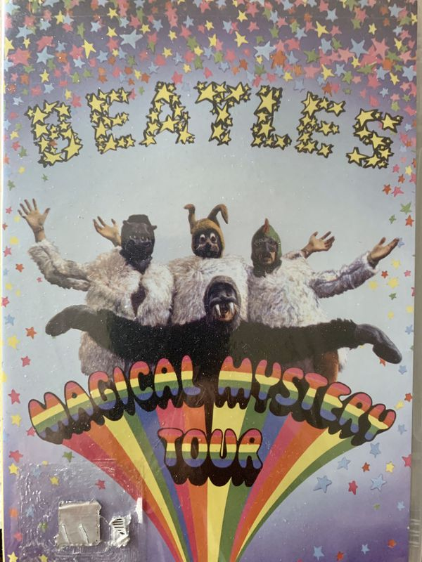 MAGICAL MYSTERY TOUR DVD NEW SEALED APPLE 2012