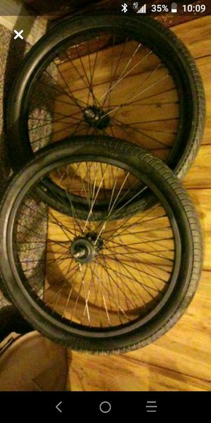 20in. BMX freestyle wheels tires tubes for Sale in Ross, OH