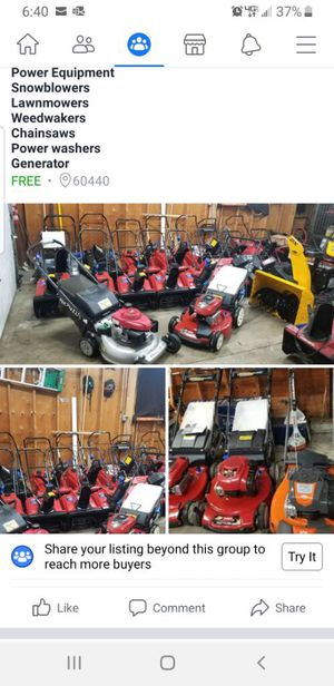 Power Equipment for Sale in Bolingbrook, IL