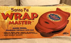 Santa Fe Tortilla Wrap Master for Sale in Virginia Beach, VA