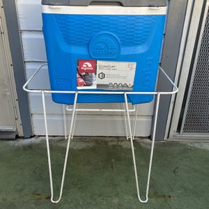 Metal Ice Chest Cooler Stand for Sale in San Antonio, TX