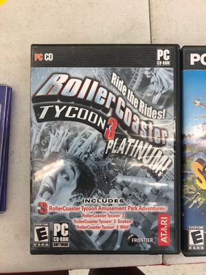 sim city 4 rollercoaster tycoon pc games for Sale in Orlando, FL
