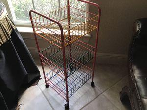 3 Tier Rolling Storage Cart for Sale in Mount Dora, FL