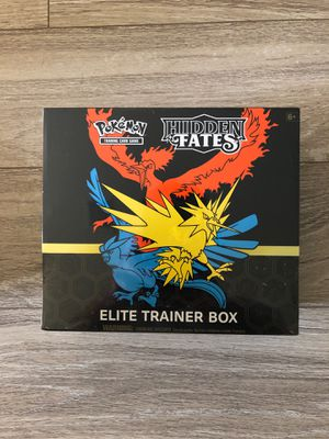 Pokemon - HIDDEN FATES - ELITE TRAINER BOX (Sealed / Unopened) for Sale in Winter Garden, FL