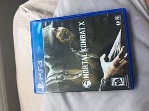 MORTAL KOMBAT X for Sale in Traverse City, MI