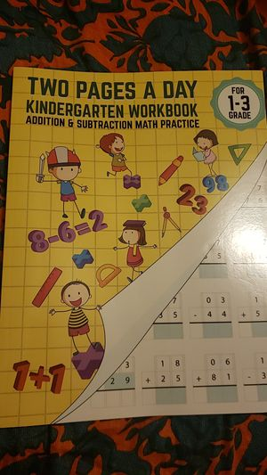 Kindergarten workbook for Sale in Katy, TX
