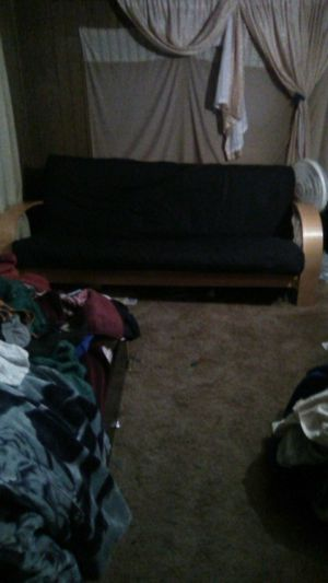 Nice futon first 30 takes it need gone today for Sale in Kennewick, WA