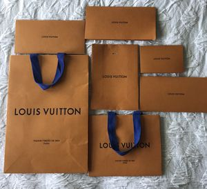 Louis Vuitton Gift Bags for Sale in Schaumburg, IL