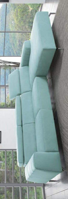 Prose Subtle Teal Sectional /couch for Sale in Pflugerville, TX