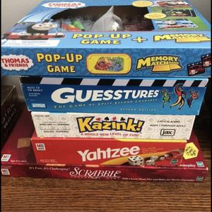Variety Of Board Games for Sale in Wood-Ridge, NJ