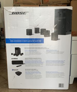 Bose Acoustimass 6 Series V Home Theater Package for Sale in Miramar, FL