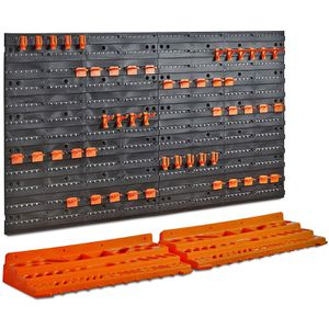 Large Work Area Storage Organizer Board and Shelving System for Garage Shop for Sale in Hemet, CA