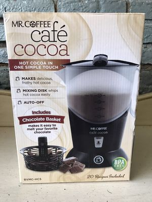 Mr. coffee cocoa maker cafe cocoa for Sale in Lakewood, OH