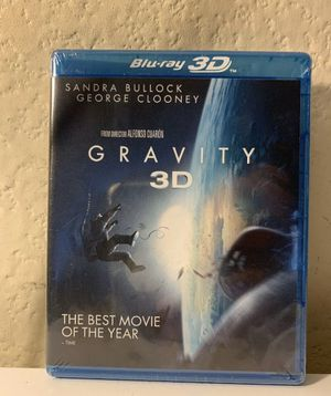 New Gravity 3D Blu-ray for Sale in Modesto, CA