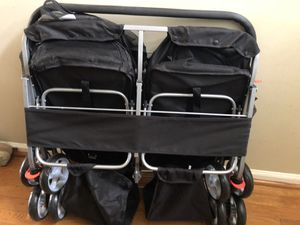 Twin dog stroller for Sale in Alexandria, VA