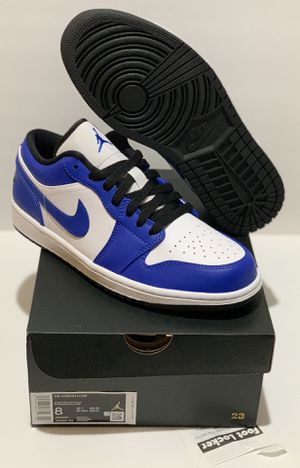 Jordan's 1 Low Game Royal Size 8 - $160 for Sale in Montebello, CA