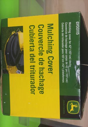 John Deere Riding Mower Mulching Cover for Sale in Snohomish, WA