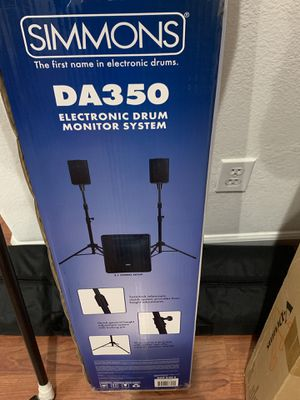 Simmons DA350 Electronic Drum Monitor System for Sale in Tracy, CA