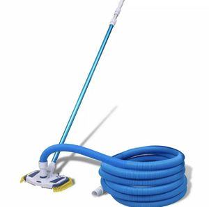 🔥 Swimming Pool Vacuum w/ Telescopic Pole and Hose Cleaning Set Outdoor for Sale in Vista, CA