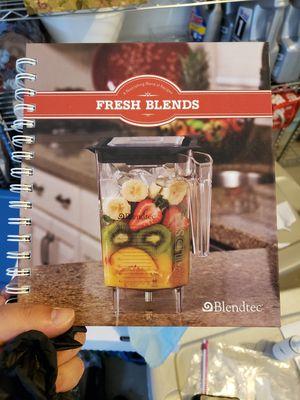 Blendtec Smoothie Recipe Book for Sale in Newark, CA