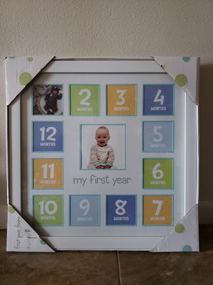 Baby picture frame.. SERIOUS BUYER only for Sale in West Palm Beach, FL