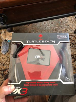 Turtle beach ps3 / Xbox 360 wireless gaming headphones for Sale in Tiverton, RI