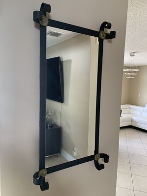 """Iron mirror made in Colombia 42""""H 23"""" for Sale in Miramar, FL"""