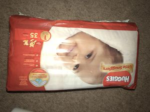 Huggies size 1 for Sale in West Hartford, CT