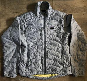 Patagonia Womens Light Blue Puffer Puffy Jacket Coat Full Zip Up XS Winter Fall for Sale in Santa Clarita, CA
